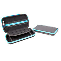 Nintendo 2DS XL 2DSXL Carry Case - Black/Blue by Orzly