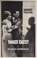 "Sylvia Syms  &  Gerald Harper    ""House Guest""    Playbill    London   1981"