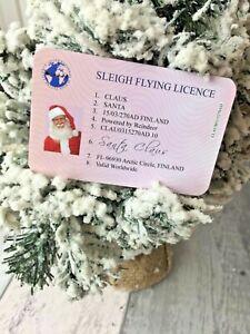 Santa Claus Lost Driving Licence, Christmas Eve Traditional Keepsake, Xmas Box