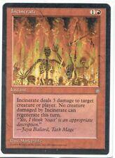 Incinerate MTG Magic 2010-2015 Magic: The Gathering, MTG) *MRM* FRENCH 4x Incineration Verzamelingen