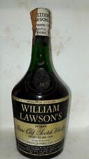 Old rare scotch whisky William lawson's 8yo cl 75 43°martini e rossi imp perfect