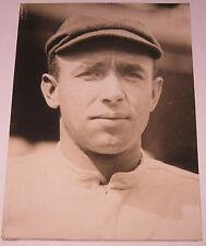 Antique 1914 DICK RUDOLPH Boston Braves BASEBALL World Series Press Photograph