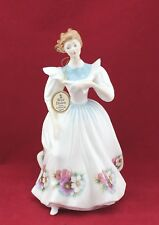 Royal Doulton Figure Of The Month October Hn 2693 Nice Vintage c. 1987