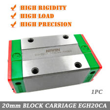 20mm HIWIN Rail Block EGH20CA Economy Type for EGR20 Linear New Guide Original
