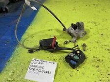 New listing 2006 Polaris Rmk 600 brake assembly caliper res brake line headlight switch