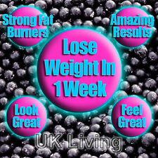Burn Fat Strong Diet Slimming Pills Tablets Lose Loss Weight Fast Acai Berry