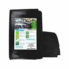 More details for swell uk fish pond liners with free underlay garden pool landscaping reinforced