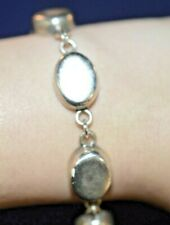 925 STERLING SILVER TAXCO TENNIS BRACELET 8 INCH MEXICO