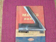 1957 58 Desoto Sportsman NOS MoPar Left Outer Corner ROOF MOLDING 1756517