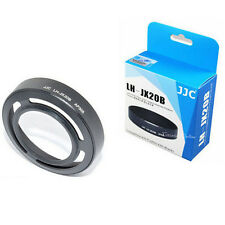 JJC LH-JX20B replace LHF-X20 Fujifilm X30 X20 X10 lens hood + Adapter Ring Black