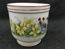 Jugendstil Übertopf Porzellan Blumentopf Pflanztopf Deko Shabby Chic Landhaus