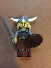 Lego Mini Figure Series 7 Female Viking