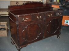 Attractive Large Vintage Mahogany Sideboard, With Cupboards And Drawers