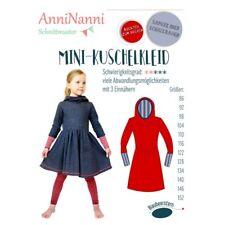 Schnittmuster Mini-Kuschelkleid von AnniNanni Größen 86 bis 152