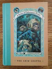 Series of Unfortunate Events Grim Grotto Lemony Snicket 1st/2nd HB SIGNED
