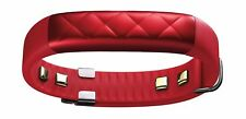Used, Up3 Jawbone Heart Sensor and Activity Tracker, Red, Free Shipping