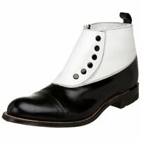Stacy Adams Mens Cap-Toe Spat Boot- Pick SZ/Color.