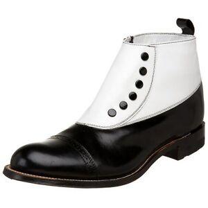 Stacy Adams Mens Cap-Toe Spat Boot- Pick SZ/Color.