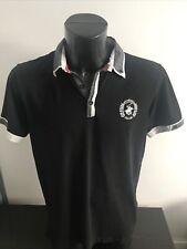 Beverly Hills Polo Club Black Polo Shirt Size Medium