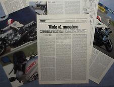 MOTOSPRINT982-PROVA / TEST-1982- SUZUKI GSX 1100 Katana - 6 fogli