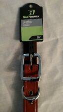 "Ruffmaxx Leather Dog Collar 20"" item # 3.1-30501013"