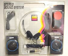 Vintage 1993 Gemini Walkperson Stereo Sound System Model As595