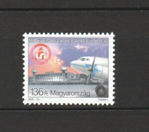 HUNGARY 2000 FERIHEGY AIRPORT COMP. SET OF 1 STAMP IN MINT MNH UNUSED CONDITION