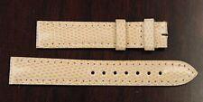Cartier Factory Original Peach Alligator Leather Strap 15x14mm