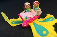 POLLY POCKET MINI  1996 Butterflyer FARFALLA Fairy Fiore Farfalla