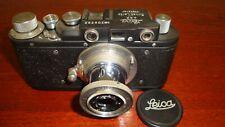 Russian Leica Copy D.R.P. ERNST LEITZ WETZLAR WW2 Vintage 35MM Camera SN308382