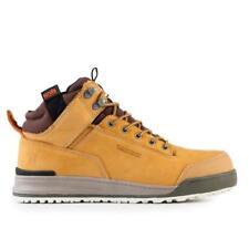 Scruffs Switchback Safety Hiker Work BOOTS Steel Toe Leather Tan 3x Socks Uk8 Eu42