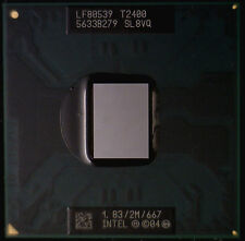 SL8VQ Intel Core Duo CPU T2400,2M Cache,1.83 GHz,667 MHz,BGA479/PGA478