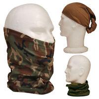 Tactical Military Army Snood Neck Warmer Head Headover Balaclava Mask Hat Scarf