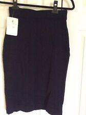 NWT CHANEL Navy Skirt size Medium