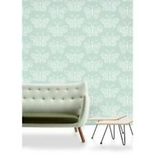 Mini Moderns CAMBERWELL BEAUTY Butterfly WALLPAPER Verdigris AZDPT018