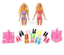 8 PEZZI BARBIE BAMBOLA Bikini's Nuoto Costume da bagno abiti BUNDLE LOTTO B2
