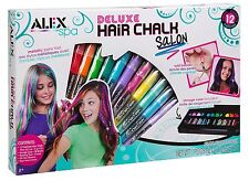 Alex Toys A738X Spa Deluxe Hair Chalk Salon Craft Kit Hair Color And Accessories