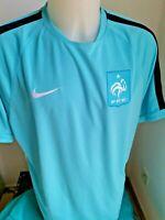 maillot de football entrainement  Equipe de france taille xxl  2014 nike