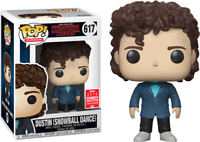 Dustin Snow Ball  SDCC Stranger Things Funko Pop Vinyl New in Box + P/P