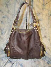 BESSO Brown Leather Italian Handbag - NEW abffcaf5fdf29