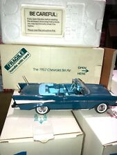 New ListingCollectible Danbury Mint 1957 Chevy BelAir Convertable DieCast Model -1/24 Scale