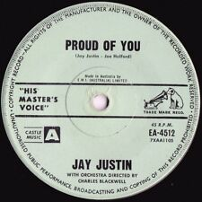 Jay Justin ORIG OZ 45 Proud of you EX '63 HMV EA4512 Pop Rock