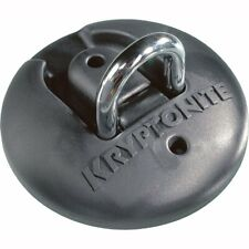 Kryptonite Stronghold Ground Anchor - Black