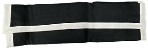NEW $175 Polo Ralph Lauren Linen Pillow Sham!  Standard  Black  Off White Border