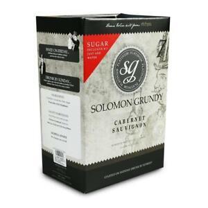 Solomon Grundy Homebrew wine making kits | Red White Rose Fruit Best wine kits