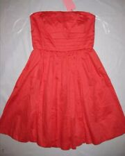 WISH 10 'Merit Dress' strapless coral RRP $159.95 Bnwt