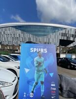 Tottenham v Manchester United Pl Programme 2020 Immediate Delivery Free Uk Post
