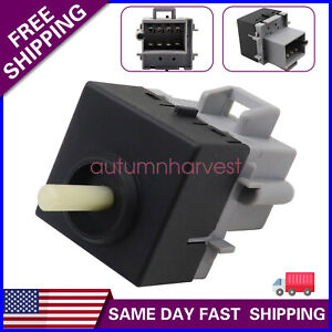 Heater A/C Air Conditioning Blower Motor Control Switch 08-15 For Peterbilt 384