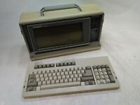 Sharp PC-7000 Vintage Portable Computer NO Floppy Drive NO Power AS-IS for Parts