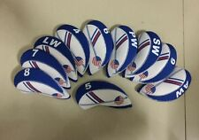 All Fit 10x Golf Iron Head Cover Headcover For Taylormade RBZ SLDR Callaway Ping